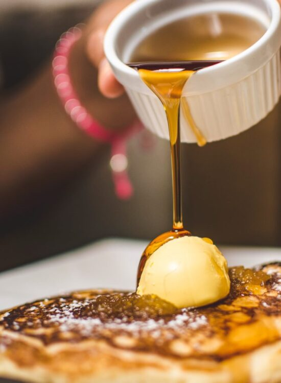 Pancakes, Butter & Syrup